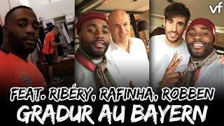 Gradur rend visite à Ribery au Bayern Munich