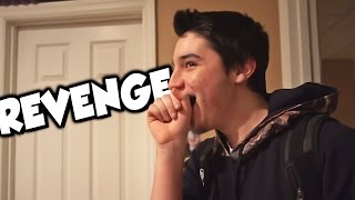 REVENGE PRANK ON ROOMMATE!