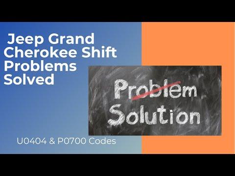 2006 Jeep Grand Cherokee (WK) 3.7 Electronic Shift Module (ESM) Problems U0404 P0700 Codes