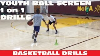 getlinkyoutube.com-YOUTH Ball Screen 1 on 1 Drill | Coach Godwin Ep: 206