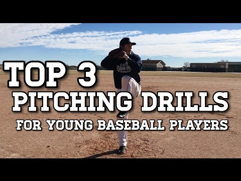 The Top 3 PITCHING DRILLS for Young Baseball Players!