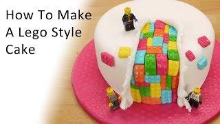 getlinkyoutube.com-Lego Style Cake