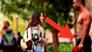 ATTRACTIVE BLACK GUY SOCIAL EXPERIMENT | ASKING GIRLS AT UCLA width=