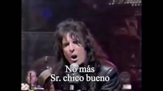 getlinkyoutube.com-Alice Cooper No more Mr nice guy (live) subtitulada español