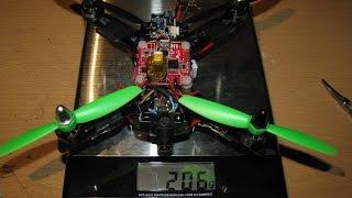 """getlinkyoutube.com-Diatone blade 150mm quadcopter FPV build review 4"""" props modified - Peel Drone"""
