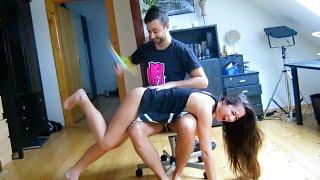 getlinkyoutube.com-BEATING MY GIRLFRIEND'S ASS!!