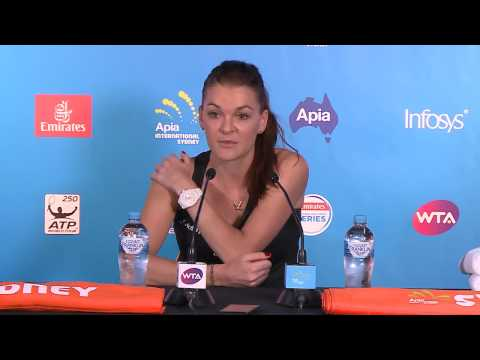 Agnieszka Radwanska Press Conference (Final) | Apia International Sydney 2017