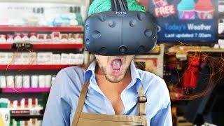 getlinkyoutube.com-I NEED MY MANAGER   Job Simulator #2 (HTC Vive Virtual Reality)
