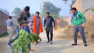 Mintu Jatt | Happy Jeet  Pencher  | Ustad Chela Race | New Punjabi Comedy 2018