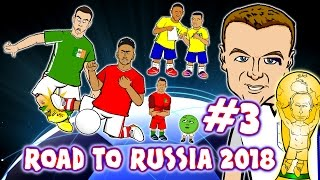 Road to Russia 2018! #3 Coleman Leg Break, Vardy eye-liner, Hernandez/ Ronaldo Records! & MORE!