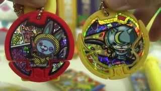 getlinkyoutube.com-妖怪ウォッチ Yokai Watch Toys & Candy Review