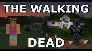 getlinkyoutube.com-Minecraft - The Walking Dead - Part 1 - Adventure Map - With Jen
