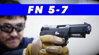東京マルイ FNファイブセブン (FN5-7 GBB) ガスブローバック 精鋭達が求めた、P90の無二の相棒 レビュー#131