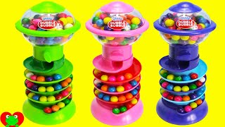 getlinkyoutube.com-Gumball Banks LEARN Colors and Numbers with Gumballs