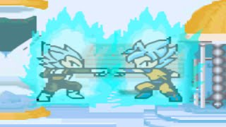 getlinkyoutube.com-Dragon Ball Z Rpg maker fight - Goku vs Vegeta in the New Time Chamber!