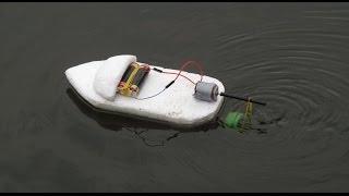 getlinkyoutube.com-Bagaimana membuat perahu listrik | produk kreatif