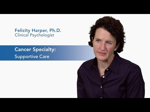 Meet Dr. Felicity Harper - Supportive Oncology video thumbnail