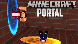 getlinkyoutube.com-PORTAL 2 - Minecraft Прохождение Карты