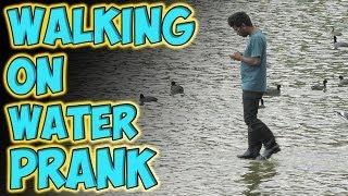 getlinkyoutube.com-Walking on Water Prank