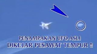 """getlinkyoutube.com-VIDEO PENAMPAKAN UFO ASLI """"DIKEJAR PESAWAT TEMPUR"""" PENAMPAKAN UFO YANG NYATA DI DUNIA !!"""