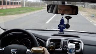 Dacia Logan 1.5 dci Easy-R - drum in afara localitatii 1/2