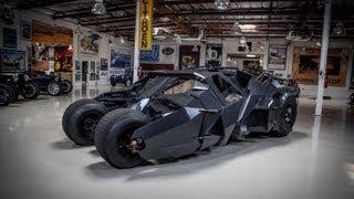 getlinkyoutube.com-Batman's Tumbler - Jay Leno's Garage