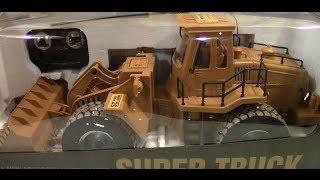 getlinkyoutube.com-Super Truck Scraper Construction Front Loader Unboxing