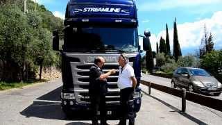 getlinkyoutube.com-Test drive: Scania R490