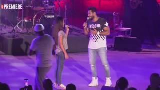 getlinkyoutube.com-الطفلة نور قمر تشعل مسرح قرطاج في سهرة تامر حسني