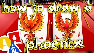 getlinkyoutube.com-How To Draw A Phoenix
