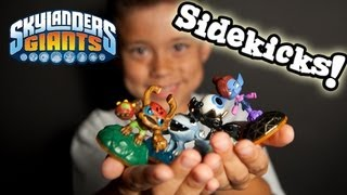 getlinkyoutube.com-Skylanders Giants SIDEKICKS are HERE! Barkley, Thumpling, Eye Small, Mini-Jini GAMEPLAY!