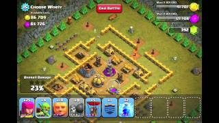 getlinkyoutube.com-Clash of Clans Level 41 - Choose Wisely