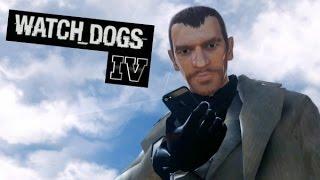 Niko Bellic El Hacker - GTA IV WATCH DOGS MOD