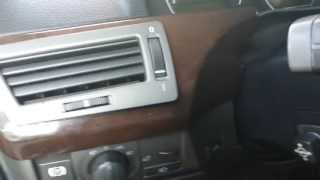 getlinkyoutube.com-BMW E65 745Li Center Console Wood Trim Removal