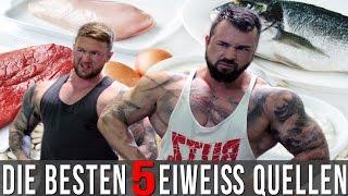 getlinkyoutube.com-TOP 5 Eiweißquellen für den Muskelaufbau - Beste Protein Lebensmittel