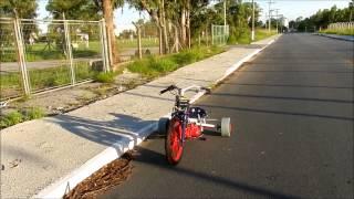 getlinkyoutube.com-Drift trike com motor de biz 100