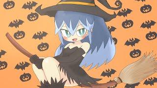 【妖怪ウォッチ】ふぶき姫に魔女のコスプレさせてみた。【ハロウィン】
