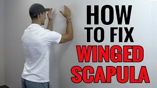 getlinkyoutube.com-3 Exercises You Can Do To Fix Winged Scapula