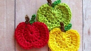 getlinkyoutube.com-How to make a Crochet Apple