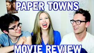 getlinkyoutube.com-Paper Towns Movie Review | Jack Howard, TimH & XtineMay