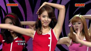 getlinkyoutube.com-少女時代(SNSD) - 훗(hoot) stage mix