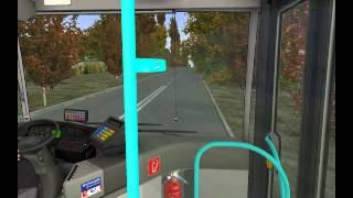 getlinkyoutube.com-Omsi 2 Bus Simulator Route 58 Mercedes Benz Citaro ZF Gearbox First Bus