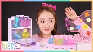 getlinkyoutube.com-캐리의 향수 디자이너 디럭스 장난감으로 향수 만들기 놀이 CarrieAndToys