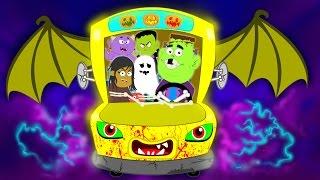 Wheels On The Bus | Scary Nursery Rhymes | Kids Songs | Baby Videos