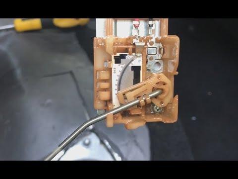Калибровка, чистка датчика уровня топлива (cleaning fuel level sensor)