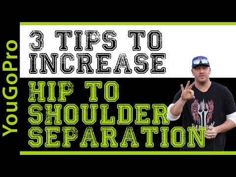 3 Tips to Increase HIP TO SHOULDER SEPARATION in your Pitching Delivery