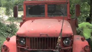 getlinkyoutube.com-ARMY 6x6 TOW WITH THE EXTREME OFF-ROAD WRECKER by BSF Recovery Team