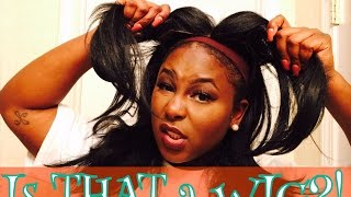 getlinkyoutube.com-Is THAT a WIG? | Updated Freetress Equal Jannie Review + 3 ways to style a wig