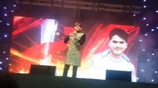 getlinkyoutube.com-Arbind Akela ( kallu ) and Nisha Dubey new songs bhojpuri Star Night doha qatar 02 / Dec / 2016