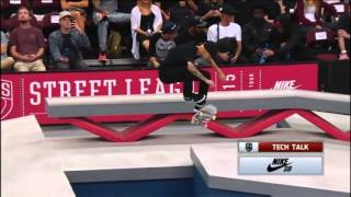 getlinkyoutube.com-Luan Oliveira vs Nyjah Huston vs Kelvin Hoefler Street League 2015 - New Jersey